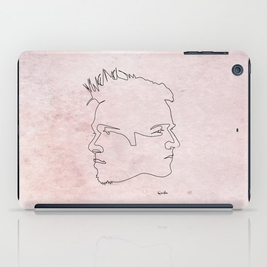 One line Fight Club iPad Case