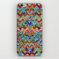 Wild Chevron- Indian Style iPhone & iPod Skin