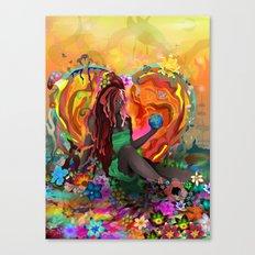 Cherish The Earth Canvas Print