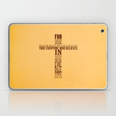 John 3:16 Laptop & iPad Skin