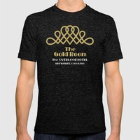The Gold Room - The Shining - Overlook Hotel  Mens Fitted Tee Tri-Black SMALL