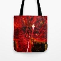 Astral flower Tote Bag