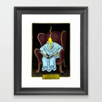 Ghost of Christmas Past Framed Art Print