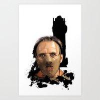 Hannibal Lecter: Monster… Art Print