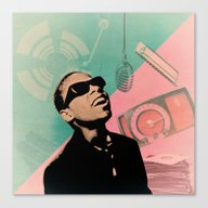 Stevie Canvas Print