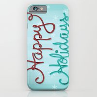 iPhone & iPod Case featuring Holiday Ribbon by designbyash