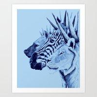 Mohawks Of The Wild King… Art Print