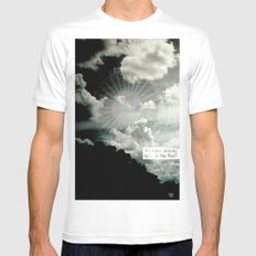 yes he was Mens Fitted Tee SMALL White