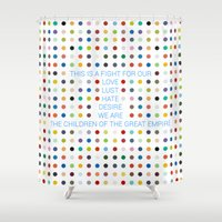 Thirty Seconds To Mars ;… Shower Curtain