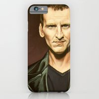 iPhone & iPod Case featuring The Ninth Doctor by Emily Blythe Jones