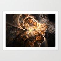 Fractal Design Spectrum Art Print