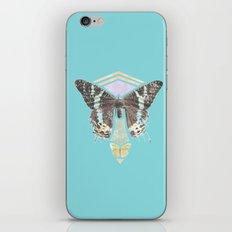 Two Butterflies iPhone & iPod Skin