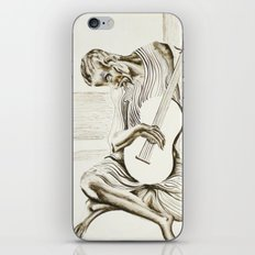 The New Old Guitarist iPhone & iPod Skin