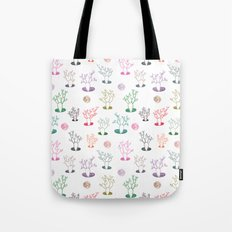 Cacti under the moon Tote Bag