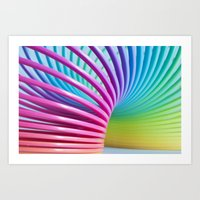 Rainbow Spring 3 Art Print