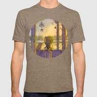 Chief At Dawn Mens Fitted Tee Tri-Coffee SMALL