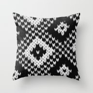 Winterzeit Throw Pillow