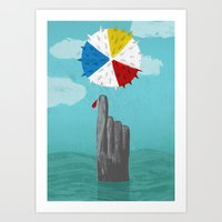 Cruel Summer Art Print