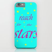 iPhone & iPod Case featuring Reach for the stars by Pink grapes