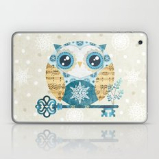 Winter Wonderland Owl Laptop & iPad Skin