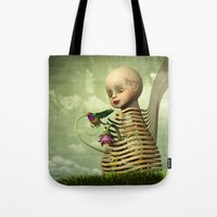 The Open Cage Tote Bag