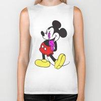 Mickey?! Biker Tank