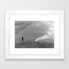 Reflective Seas Framed Art Print