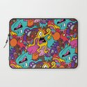 More Monsters, More Patterns Laptop Sleeve