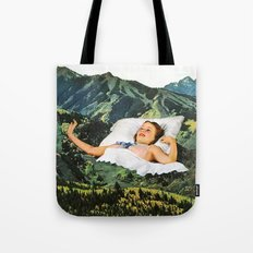 Rising Mountain Tote Bag