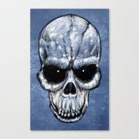Skull Gaze Canvas Print