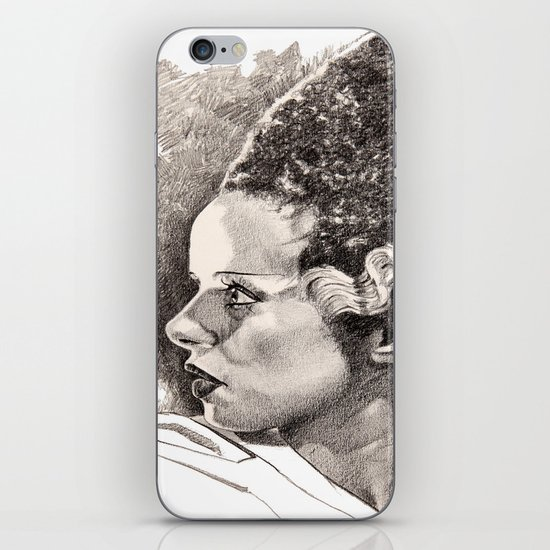 The bride of frankenstein elsa lancaster iPhone & iPod Skin