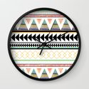 Aztec 3 Wall Clock