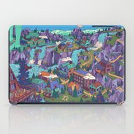 iPad Case featuring Try Not To Step On Anyth… by Valeriya Volkova