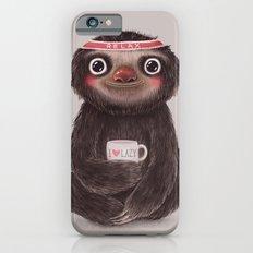 Sloth I♥lazy iPhone 6 Slim Case