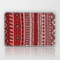 Yzor pattern 005 red Laptop & iPad Skin