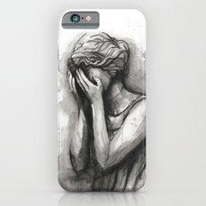 Weeping Angel Watercolor… iPhone 6 Slim Case