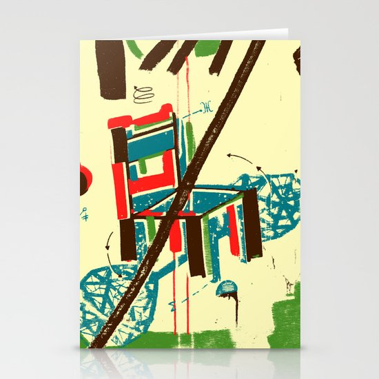 Chair Stationery Card