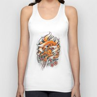 Angry Kyuubi Unisex Tank Top
