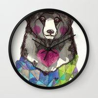 Bear yeah Wall Clock