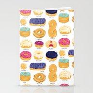 Donut Identification Stationery Cards