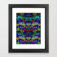 Eye of the dragon Framed Art Print