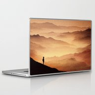 Laptop & iPad Skin featuring Red Noise Isolation Seri… by Stoian Hitrov - Sto