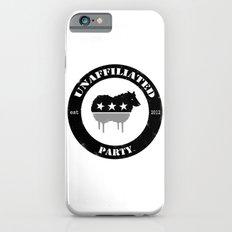 Unaffiliated Party Badge iPhone 6s Slim Case