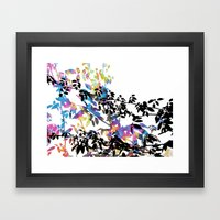 Rose Vine Ecstasy Framed Art Print