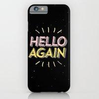 Hello Again iPhone 6 Slim Case