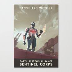 Mass Effect 3- Sentinel … Canvas Print