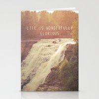 Wonderful Waterfalls Stationery Cards