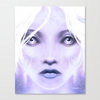 Christmasface Canvas Print