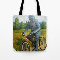 On A F___ing Bike Tote Bag