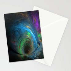 Fractal Design Colorful Tunnel Stationery Cards